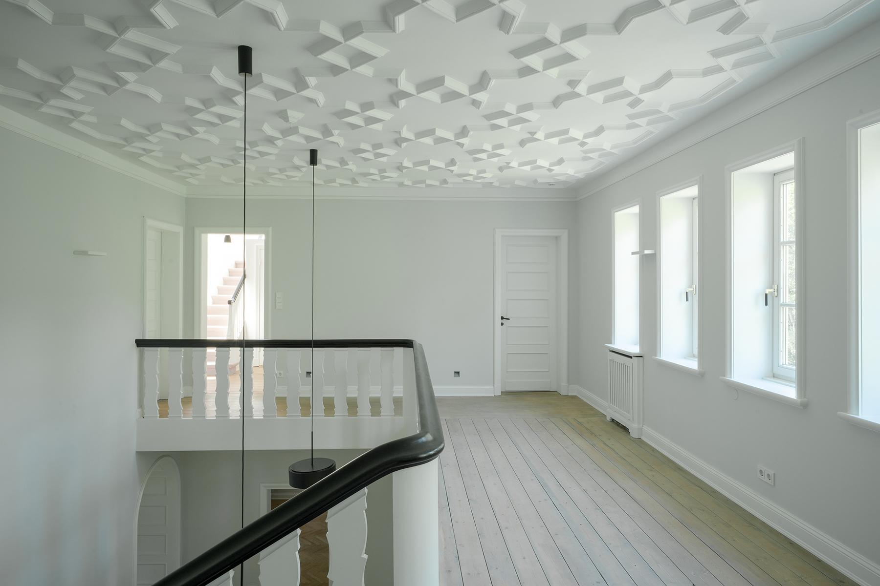 Renovierung denkmalgeschützter Stadtvilla - Galerie