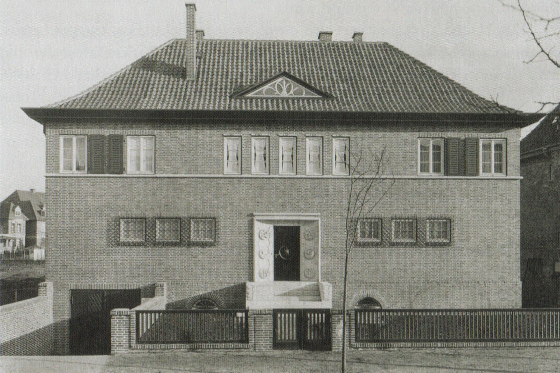 Renovierung denkmalgeschützter Stadtvilla - Damals