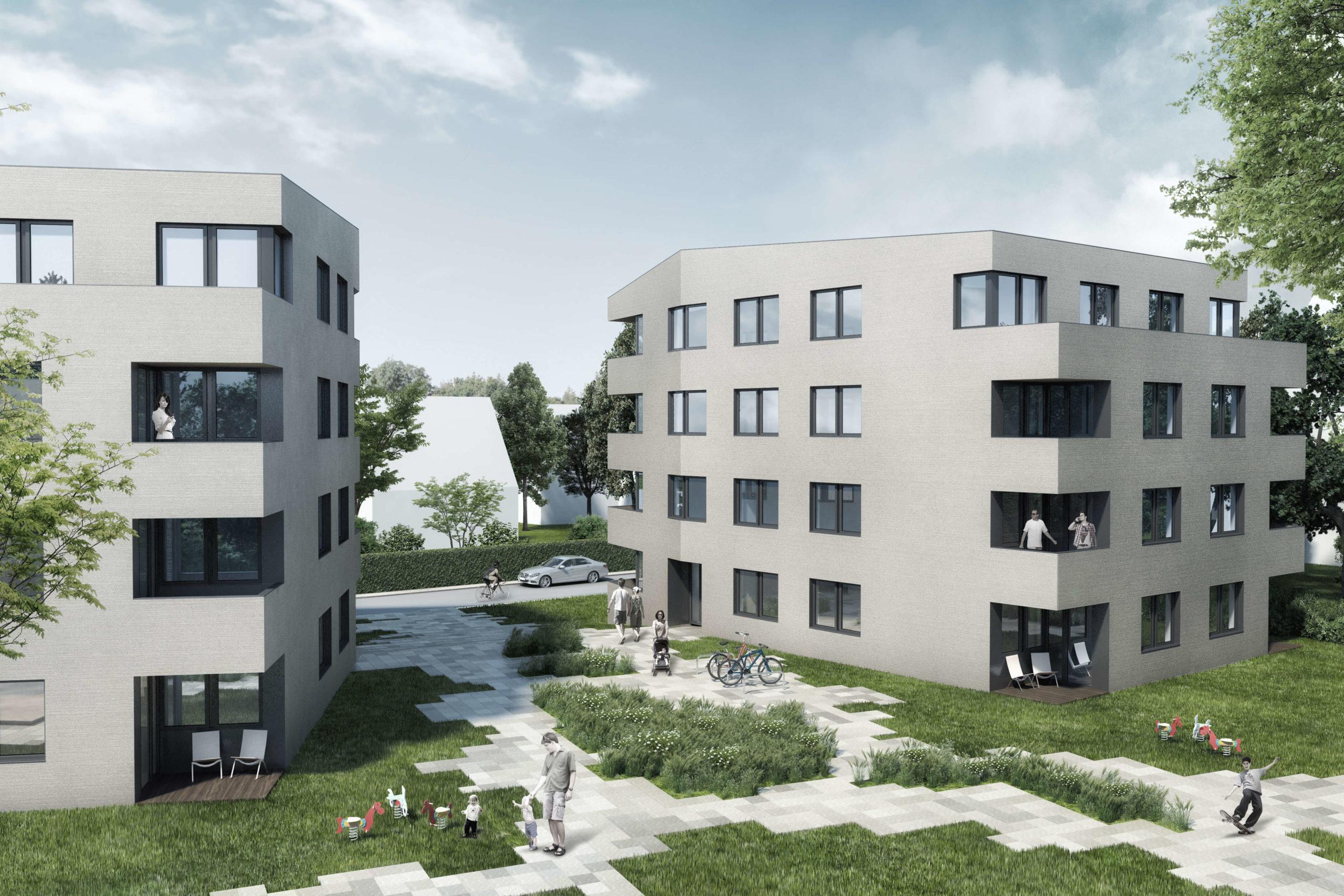 Mehrfamilienhäuser mit 24 Wohneinheiten - Hamburg